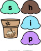 Ice Cream CCVC Word Building Activity