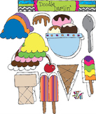 Ice Cream COMBO Clipart Set