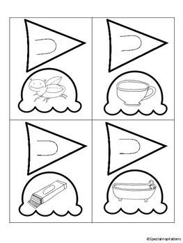 Ice Cream CVC Medial Sounds Puzzles (Phonemic Awareness)