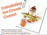 Ice Cream Calculations