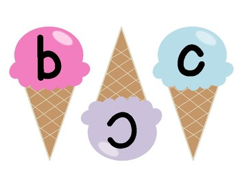 Ice Cream Capital-Lowercase Match
