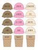 Ice Cream Categories