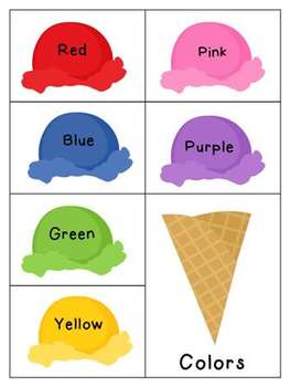 Ice Cream Categories FREEBIE