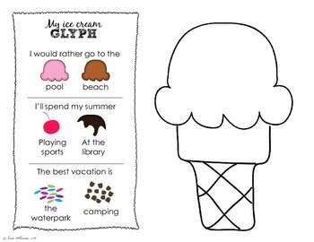 Ice Cream Centers for Preschool and Kindergarten