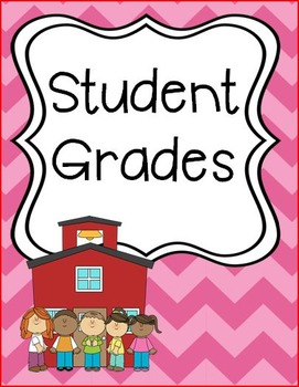 Ice Cream Chevron Binder Covers or Dividers - School Theme