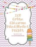 Ice Cream Classroom Management Packet