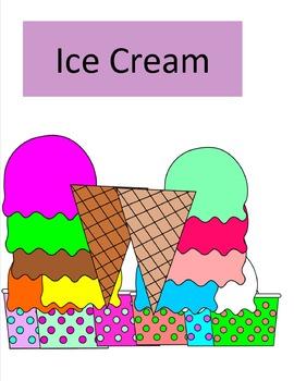 Ice Cream Clip Art - 18 pieces