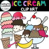 Ice Cream Clip Art {Build a Sundae and Build an Ice Cream Cone}