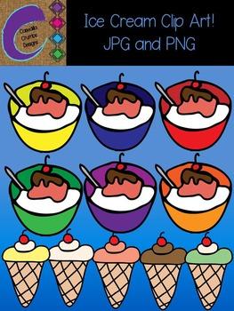 Ice Cream Clip Art  Color Images