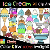 Ice Cream Clip Art [ Summer Clipart ]