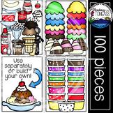 Ice Cream Clipart MEGA Set