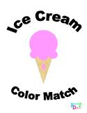 Ice Cream Color Match