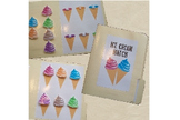 Ice Cream Color Match File Folder Game