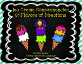 #SEPT2017SLPMustHave Ice Cream Comprehension - 31 Flavors