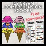 Ice Cream Comprehension Scoop Posters PLUS BOOKMARKS!