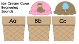 Ice Cream Cone-Beginning Sounds Match