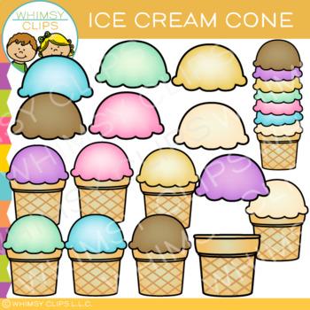 Ice Cream Cone Clip Art
