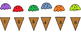 Ice Cream Cone Counting 0-10