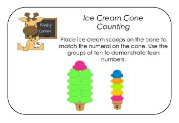 Ice Cream Cone Counting