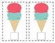 Ice Cream Cone Counting Mat