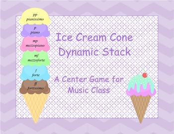 Ice Cream Cone Dynamic Stack