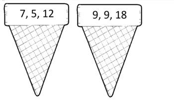 Ice Cream Cone Fact Families