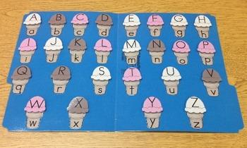 Ice Cream Cone Folder Game