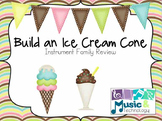 Ice Cream Cone Instrument Family Sorting Printable
