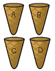 Ice Cream Cone Letter Match