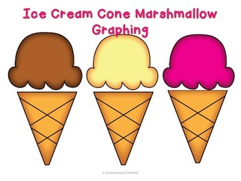 Ice Cream Cone Marshmallow Graphing