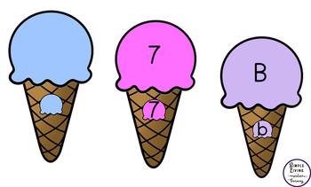 Ice Cream Cone Matching