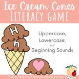Ice Cream Cone Matching Activity