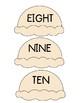 Ice Cream Cone Number Matching 1-10