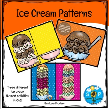 Ice Cream Cone Patterns and Sequences