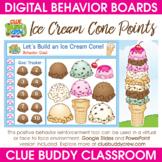 Ice Cream Cone Points Digital Behavior Board | Distance Learning