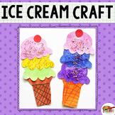 Ice Cream Cone Printable Craft Template