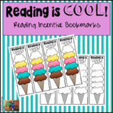 Ice Cream Cone Reading Incentive Bookmarks