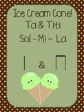 Ice Cream Cone - Ta & Ti-ti, Sol Mi La