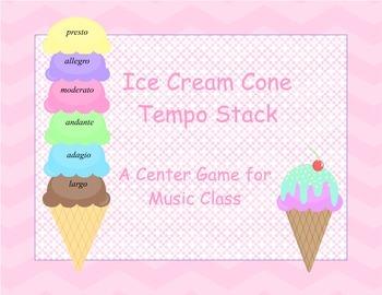 Ice Cream Cone Tempo Stack