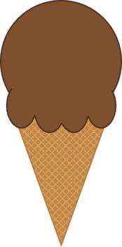Ice Cream Cones Clip Art