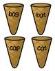 Ice Cream Cones Medial Vowel A