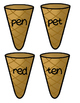 Ice Cream Cones Medial Vowel Bundle Pack