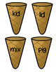 Ice Cream Cones Medial Vowel I