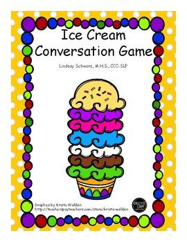Ice Cream Conversation Activity