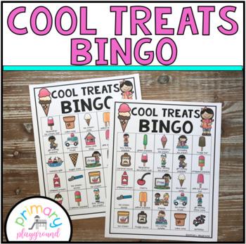 Ice Cream - Cool Treats Bingo