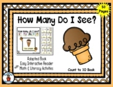 Ice Cream - Count to 10 Adapted Interactive Reader & Activ