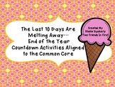 Ice Cream Countdown and Activities