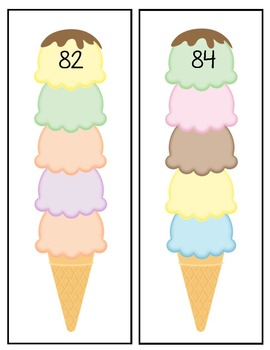 Ice Cream Counting Bundle