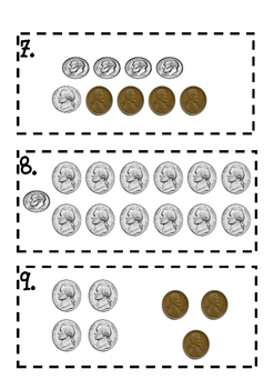 Ice Cream Counting Coins