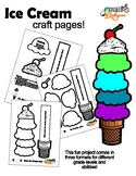 Ice Cream Craft Pages Easy and Engaging!!!!!